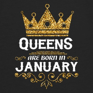 queens are born in january Baby & Toddler Shirts - Men's Premium Long Sleeve T-Shirt