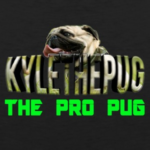 Kyle The Pug Logo YouTube - Men's Premium Tank