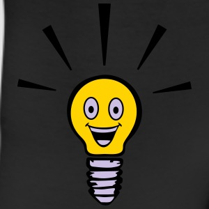 Light bulb with smiley - big idea T-Shirts - Leggings