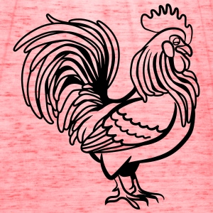 Cock witty bird T-Shirts - Women's Flowy Tank Top by Bella