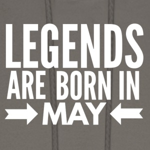 Legends Born May - Men's Hoodie