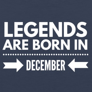 Legends Born December - Men's Premium Tank
