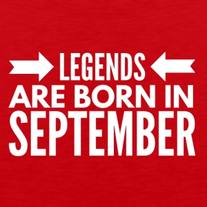 Legends Born September - Men's Premium Tank