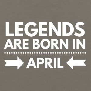 Legends Born April - Men's Premium Tank