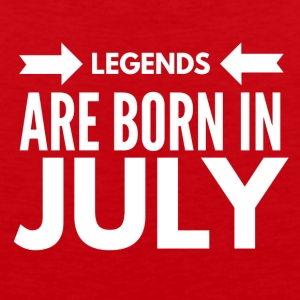 Legends Born July - Men's Premium Tank