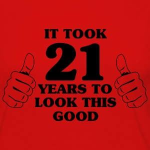 It took 21 years to look this good T-Shirts - Women's Premium Long Sleeve T-Shirt