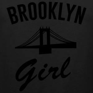 Brooklyn Girl T-Shirts - Men's Premium Tank