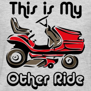 Mower My Other Ride T-Shirts - Men's Premium Long Sleeve T-Shirt