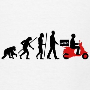 evolution_scooter_pizza_supplier_072016a Mugs & Drinkware - Men's T-Shirt