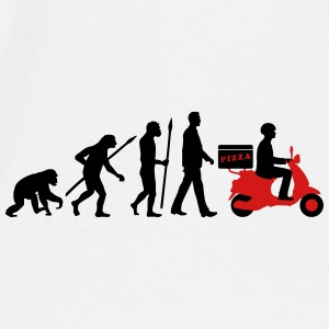 evolution_scooter_pizza_supplier_072016b Mugs & Drinkware - Men's Premium T-Shirt