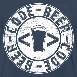 Beer Code Beer T-Shirts - Men's Premium Long Sleeve T-Shirt