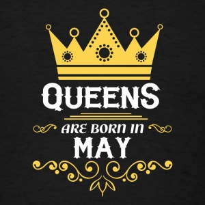 queens are born in may Caps - Men's T-Shirt