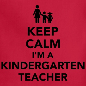 Kindergarten teacher T-Shirts - Adjustable Apron