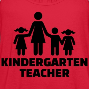 Kindergarten teacher T-Shirts - Women's Flowy Tank Top by Bella