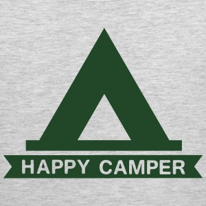 Happy Camper Tent T-Shirts - Men's Premium Tank