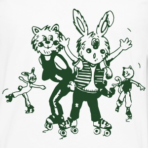 Skating Bunnies T-Shirts - Men's Premium Long Sleeve T-Shirt