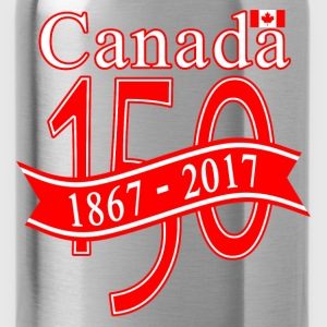 CANADA 150 RIBBON - Water Bottle