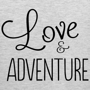 Love and adventure T-Shirts - Men's Premium Tank