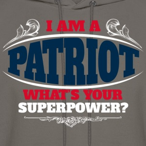 Patriot superpower color T-Shirts - Men's Hoodie