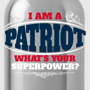 Patriot superpower color T-Shirts - Water Bottle