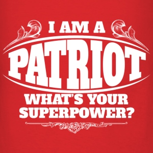 Patriot superpower Bags & backpacks - Men's T-Shirt