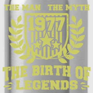 BIRTH 1977 11.png T-Shirts - Water Bottle