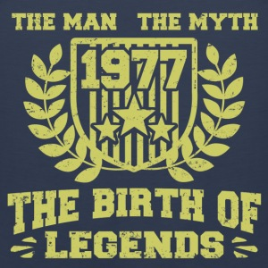 BIRTH 1977 11.png T-Shirts - Men's Premium Tank