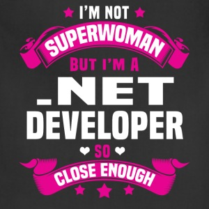 .Net Developer Tshirt - Adjustable Apron