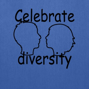 celebrate_diversity_tshirt_ - Tote Bag