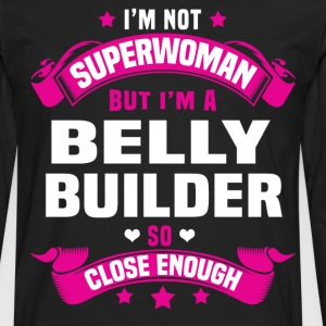 Belly Builder Tshirt - Men's Premium Long Sleeve T-Shirt