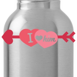 I love him - Water Bottle