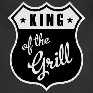 King of the Grill Hoodies - Adjustable Apron