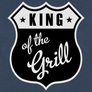 King of the Grill T-Shirts - Men's Premium Long Sleeve T-Shirt