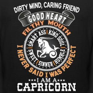 I AM A CAPRICORN T-Shirts - Men's Premium Tank