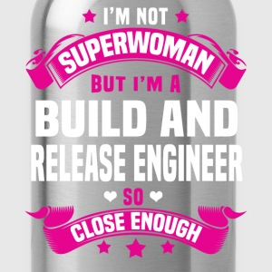 Build and Release Engineer Tshirt - Water Bottle