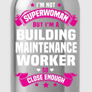Building Maintenance Worker Tshirt - Water Bottle