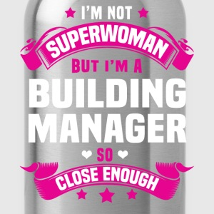 Building Manager Tshirt - Water Bottle