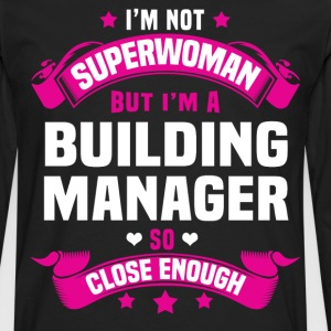Building Manager Tshirt - Men's Premium Long Sleeve T-Shirt