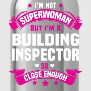 Building Inspector Tshirt - Water Bottle