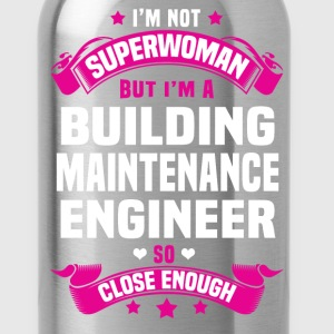Building Maintenance Engineer Tshirt - Water Bottle
