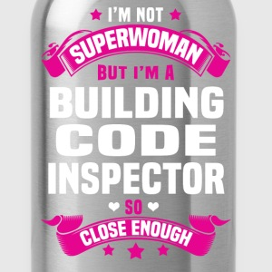 Building Code Inspector Tshirt - Water Bottle