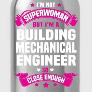 Building Mechanical Engineer Tshirt - Water Bottle