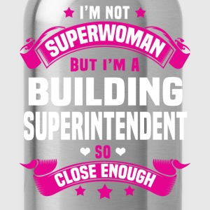 Building Superintendent Tshirt - Water Bottle