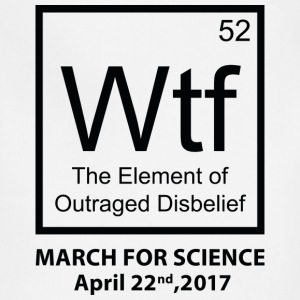 Wtf Outraged Disbelief - Adjustable Apron