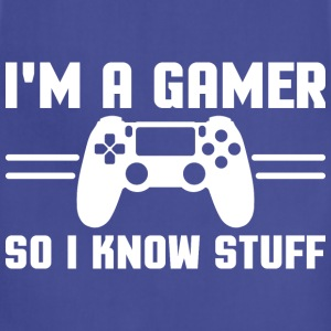 Gamers know stuff Kids' Shirts - Adjustable Apron