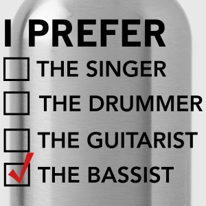 I prefer the bassist checklist T-Shirts - Water Bottle