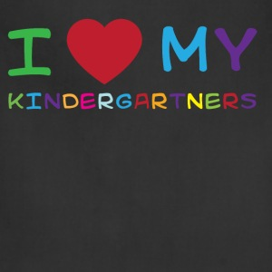 I love my kindergartners T-Shirts - Adjustable Apron