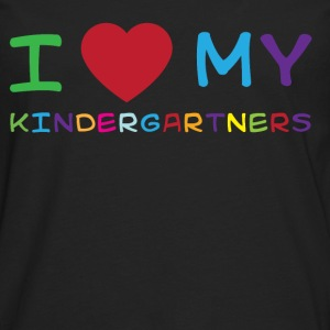 I love my kindergartners T-Shirts - Men's Premium Long Sleeve T-Shirt
