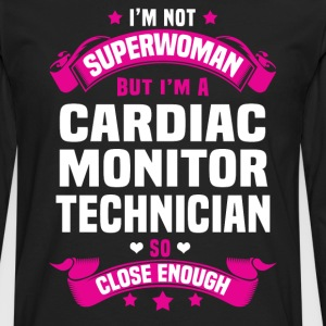 Cardiac Monitor Technician Tshirt - Men's Premium Long Sleeve T-Shirt
