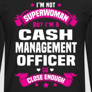 Cash Management Officer Tshirt - Men's Premium Long Sleeve T-Shirt
